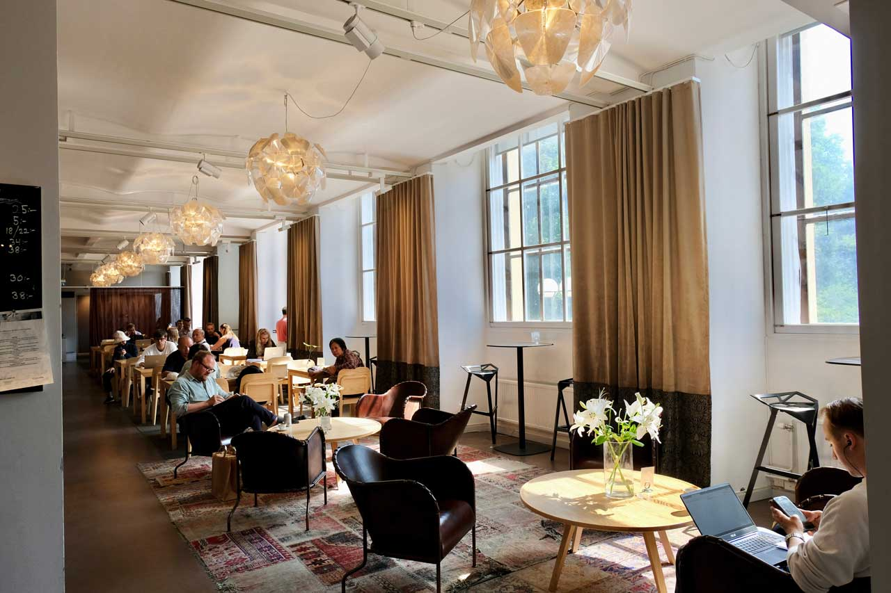 Cafe Nationalbibliothek Stockholm