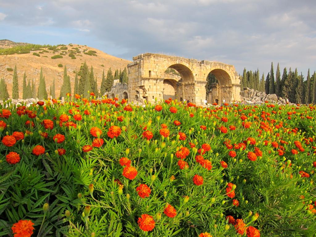 Hierapolis bei Pamukkale, Türkei