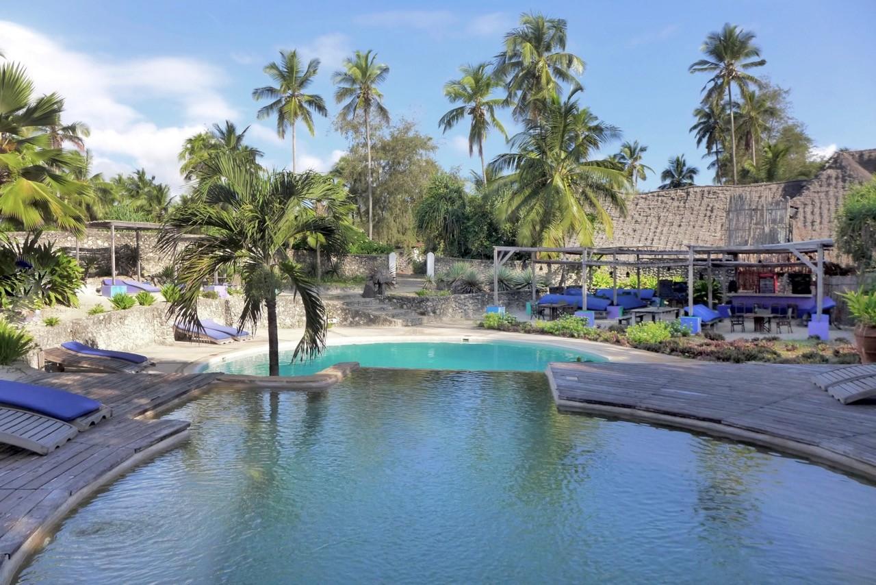 Pool & Bar im Matemwe Beach Village