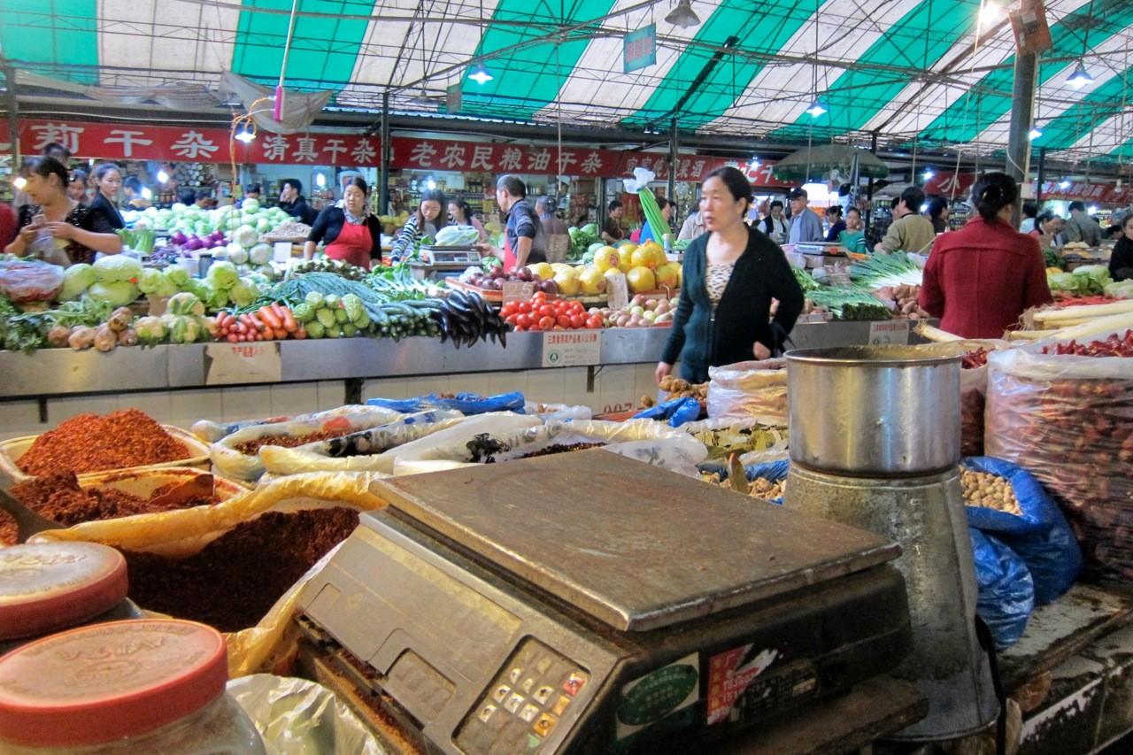 Markthalle Chengdu