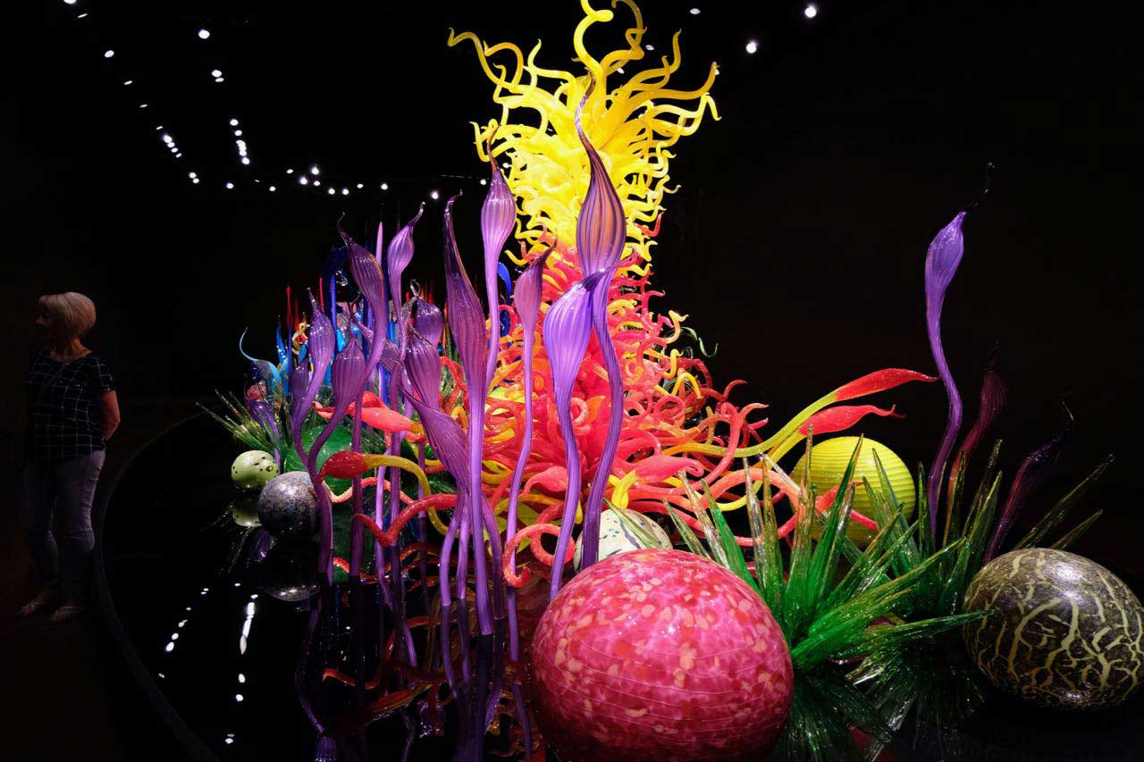 Fantasiegarten aus Glas, 'Chihuly Garden and Glass' Seattle