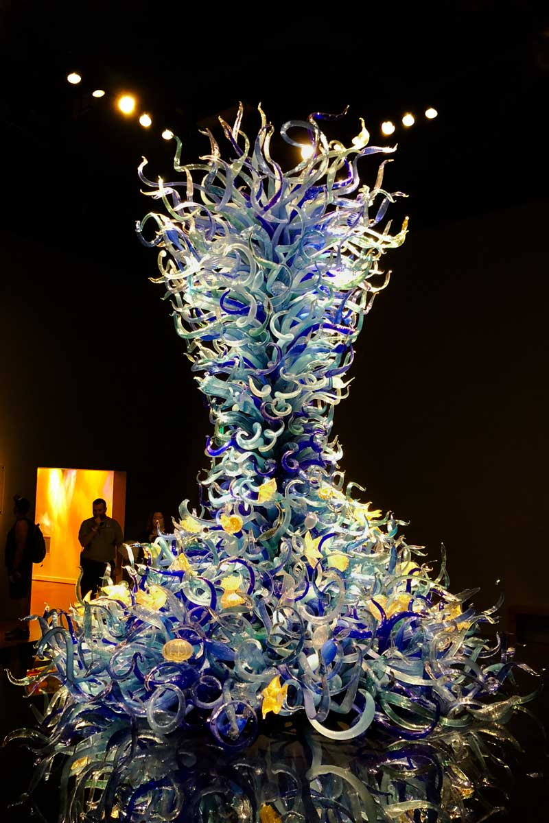 Glaskunst Chihuly Garden and Glass Seattle