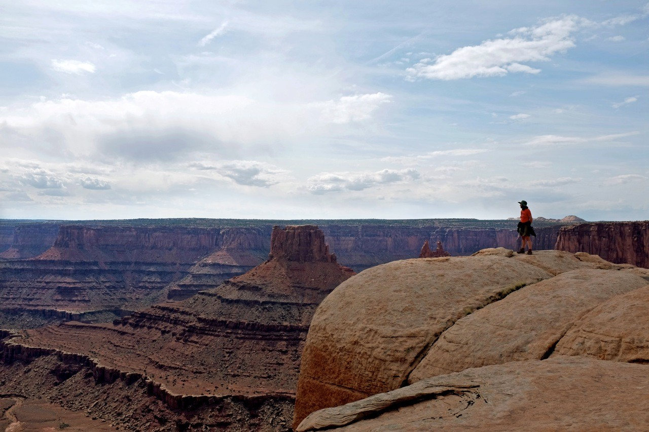 West Rim Trail – Am Dead Horse Point wandern