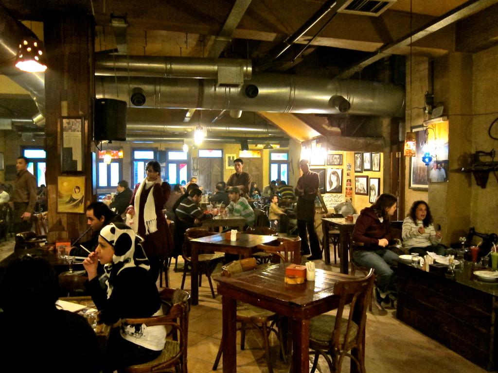 Jafra Cafe Amman Jordanien