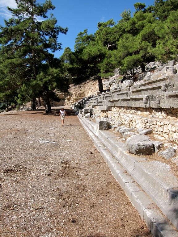 Stadion in Arykanda, Türkei Lykische Küste