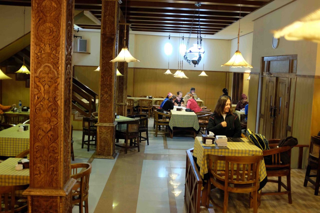 Restaurant Cafe Lava Hostel in Cemoro Lawang