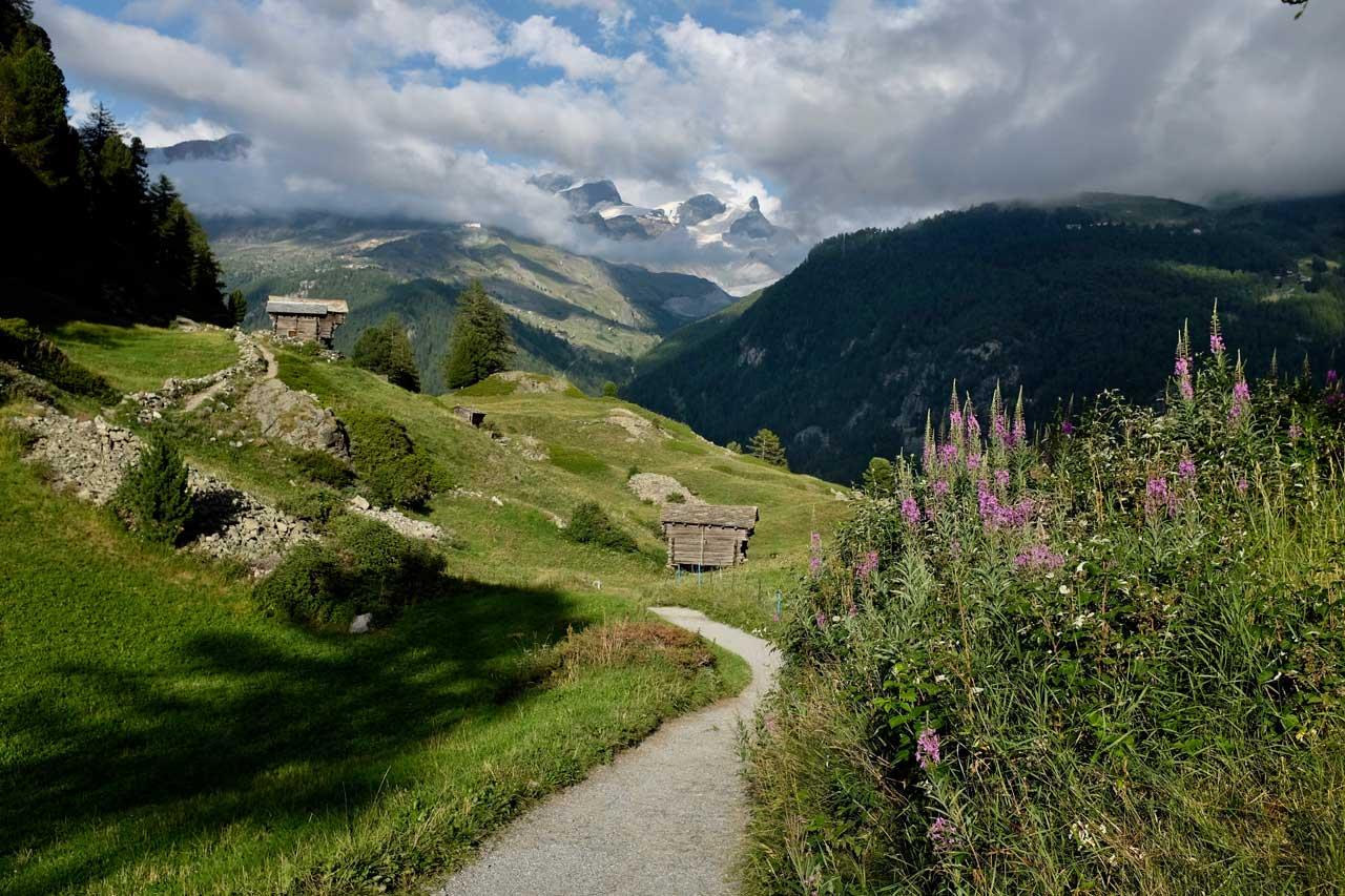 Wanderung Zmutt Zermatt