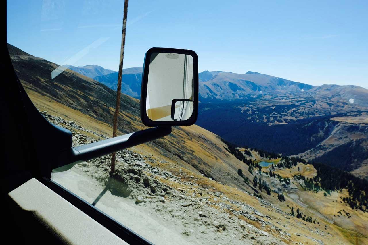 Mit dem Wohnmobil über die Trail Ridge Road, Rocky Mountain Nationalpark