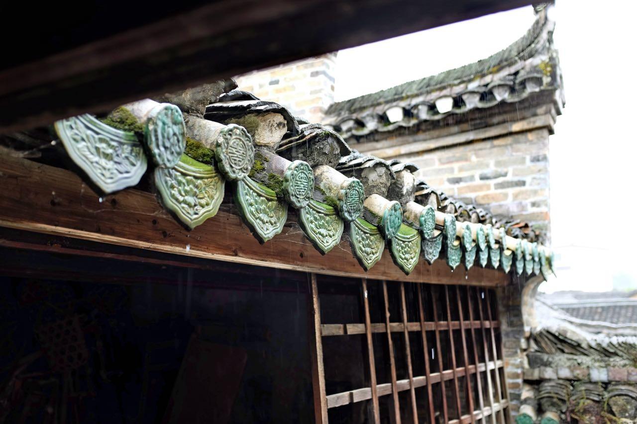 Tempel von Langzi old village südlich von Yangshuo