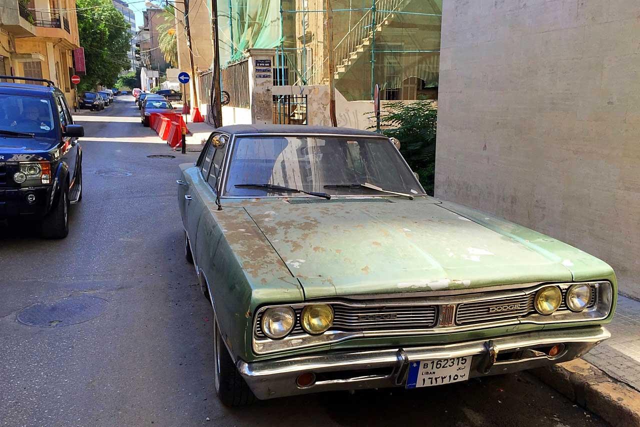 Straße in Beirut