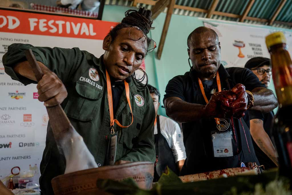 Ubud Food Festival – Return of the Jungle Chef, Charles Toto im Teater Kuliner