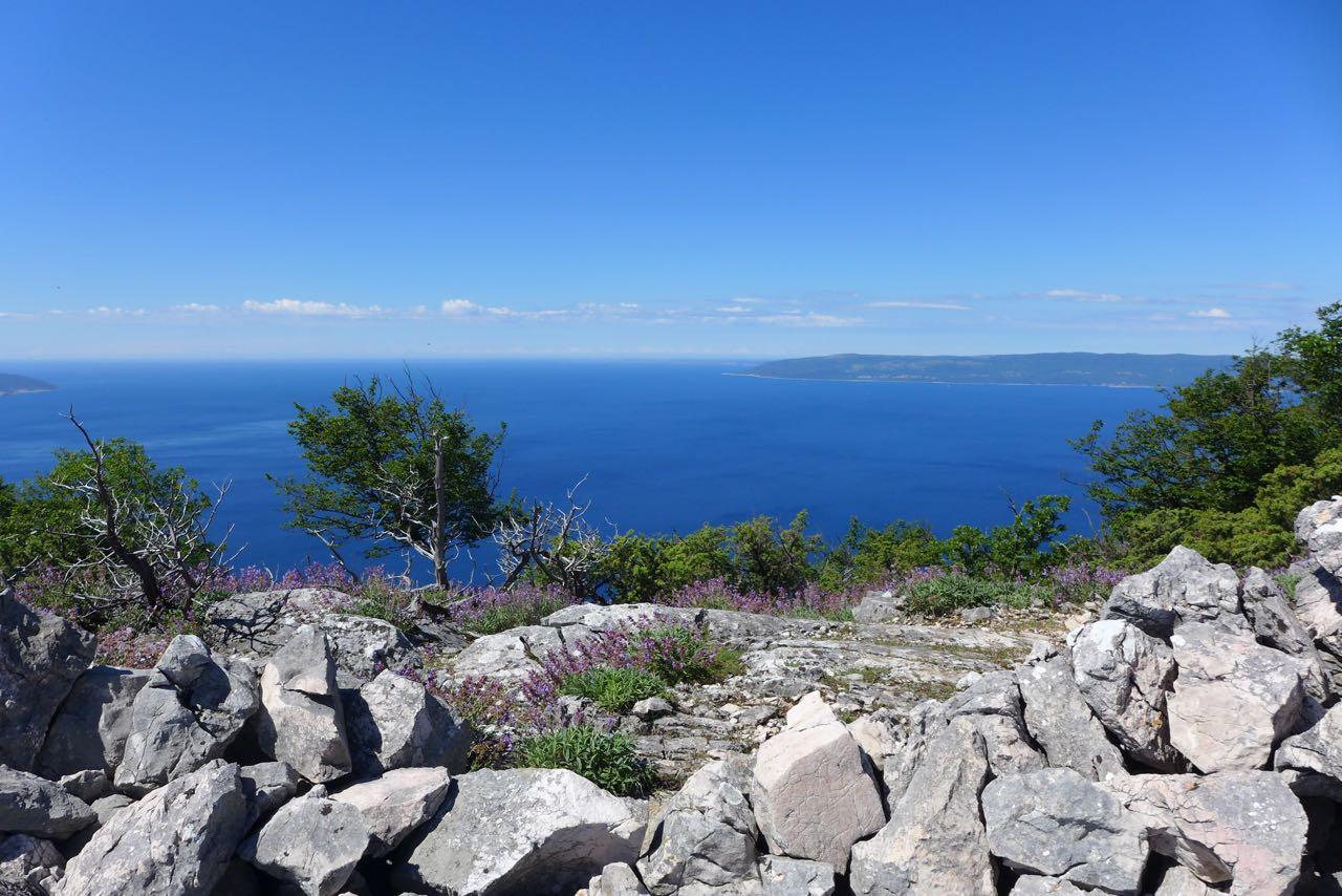 Aussichtsberg Sis auf Cres