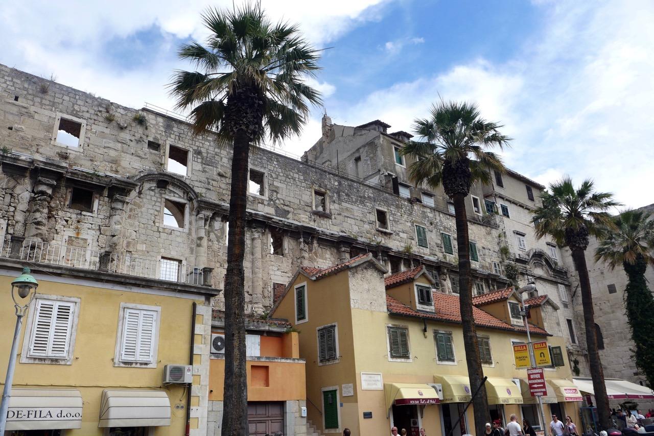 Altstadt-Architektur Split