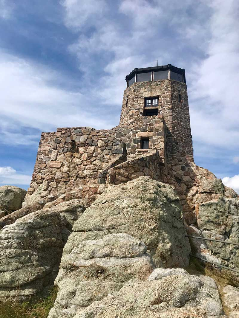 Harney Peak Turm am Black Elk Peak
