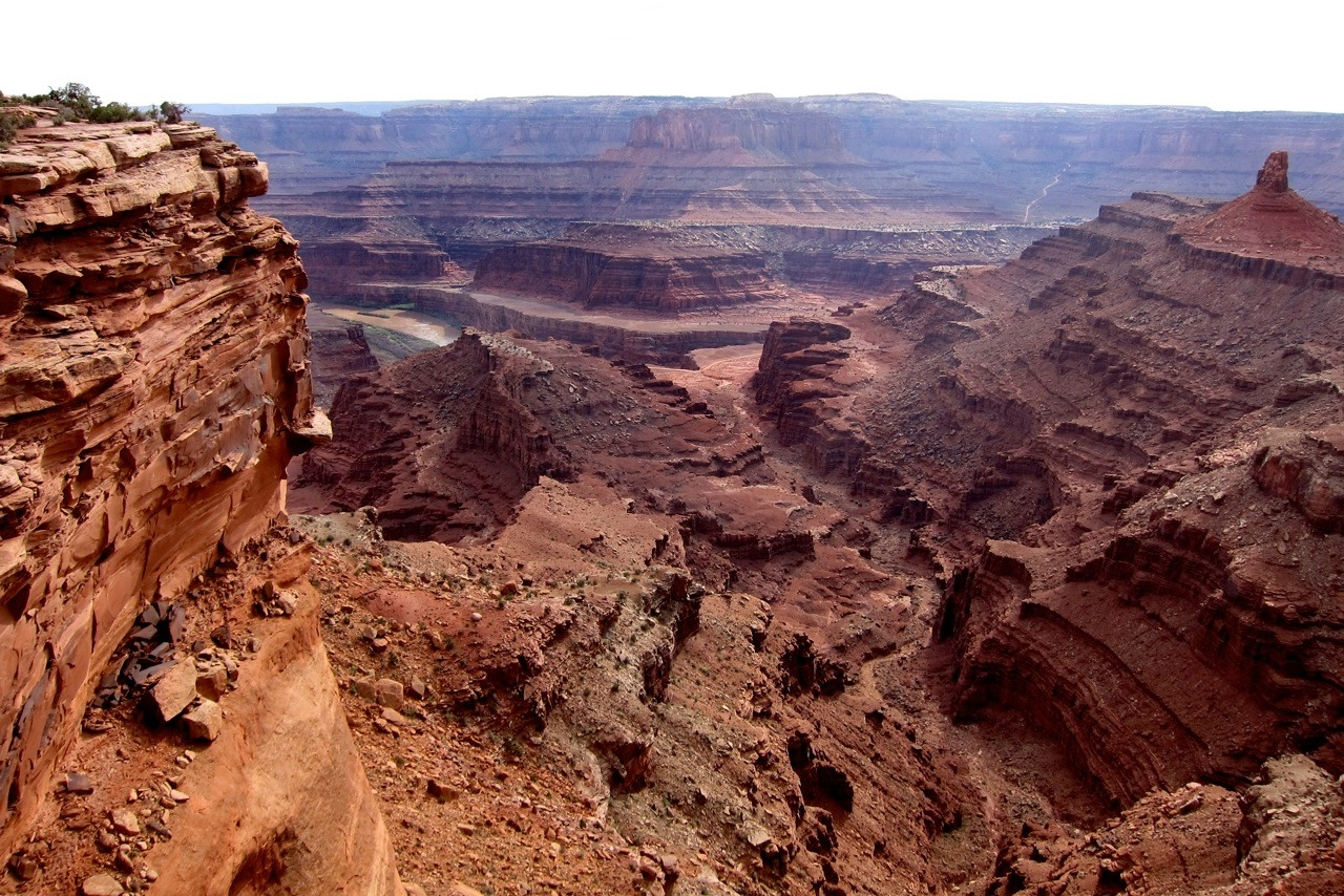 West Rim Trail Dead Horse Point SP