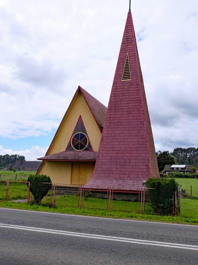 Stabkirche bei in Llanquihue