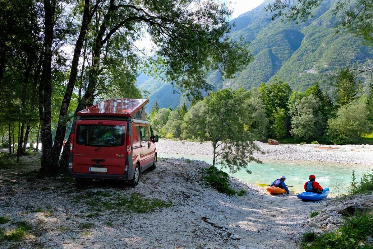 Kamp Klin am Fluss