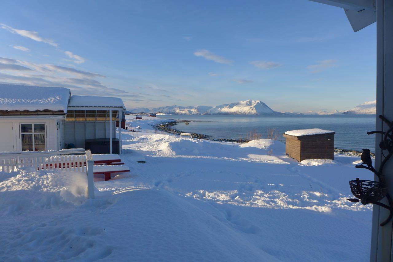 Lyngen Alps - Airbnb - Sauna & Outdoor Whirlpool
