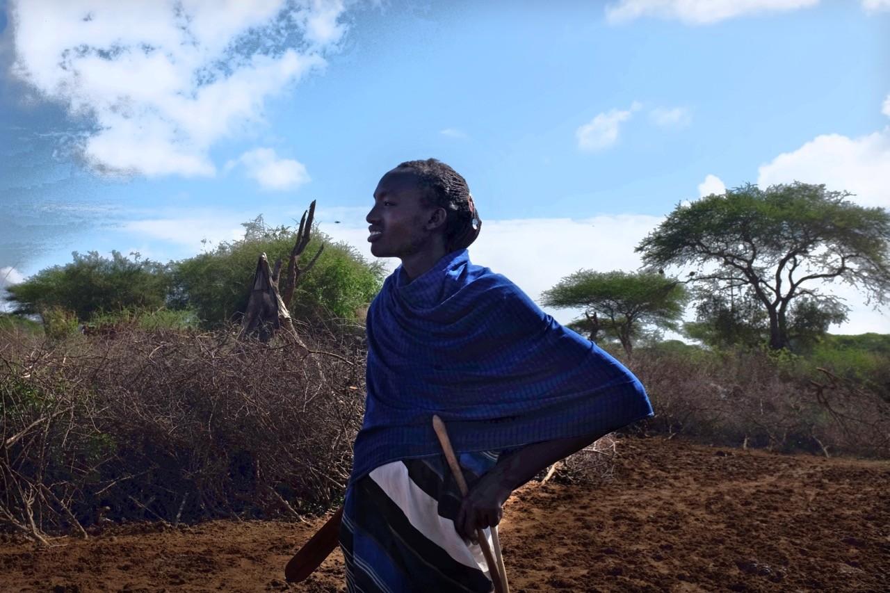 Massai Krieger und Hüter der Boma