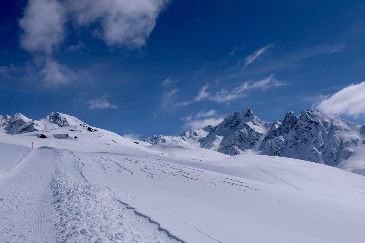 Herrlich Winterwandern am Muottas Muragl, St. Moritz Oberengadin