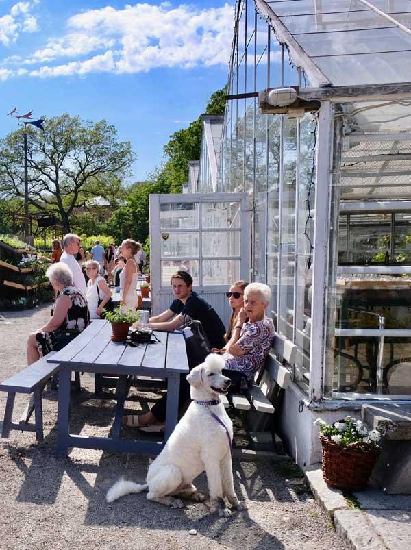 Rosendals Garden mit Cafe Stockholm