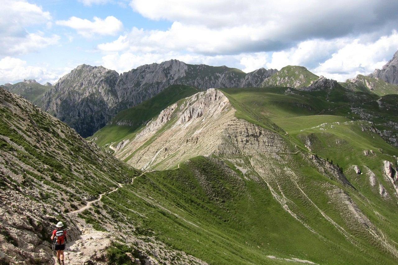 Wanderung zur Schlüterhütte im Villnösser Tal, Südtirol