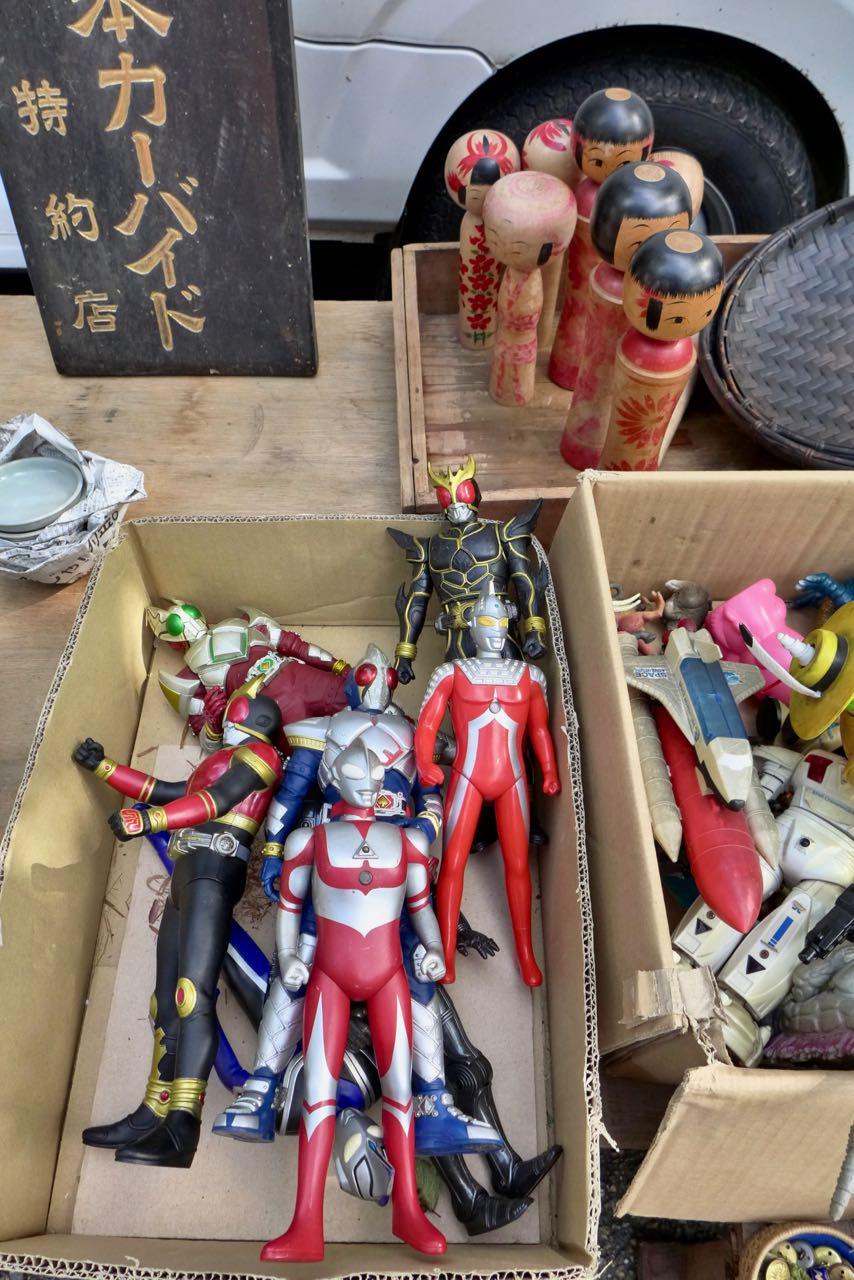 Macht Spaß – Souvenir Hunting auf Kyotos Flohmärkten