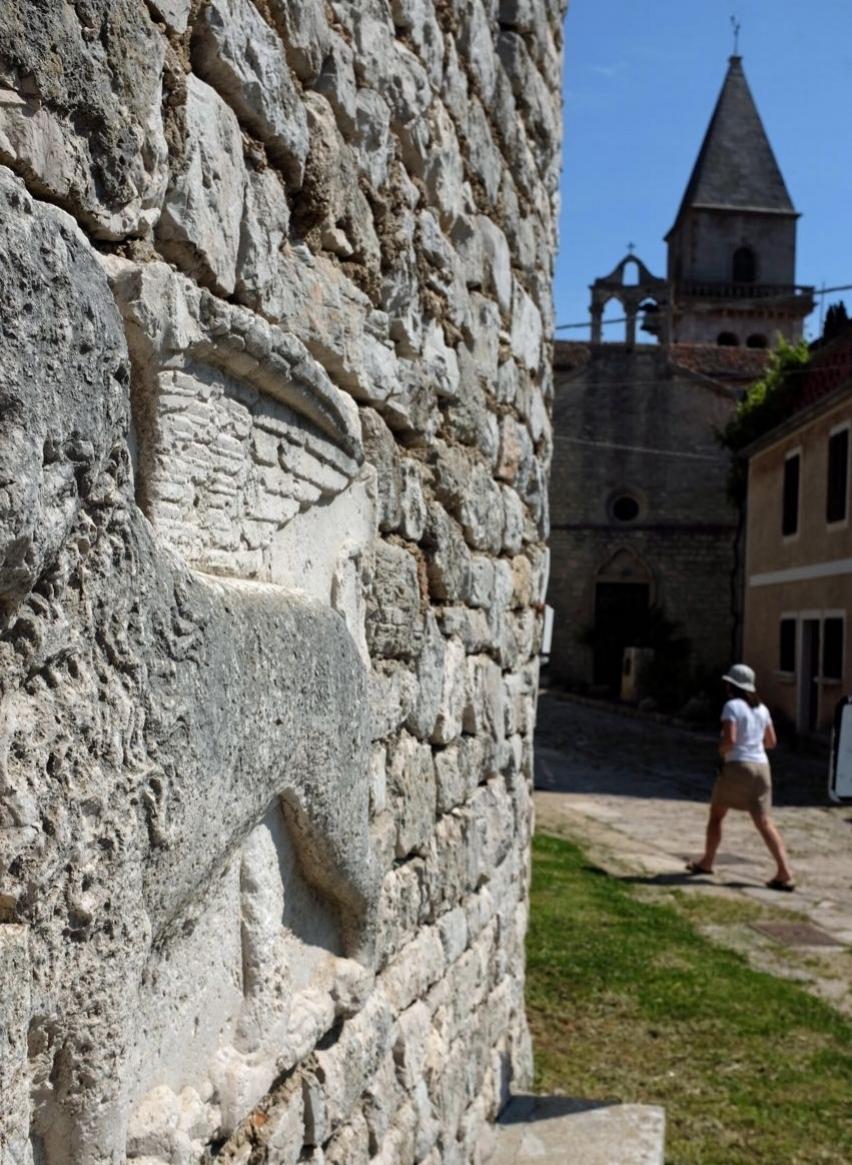 Osor, älteste Stadt auf Cres