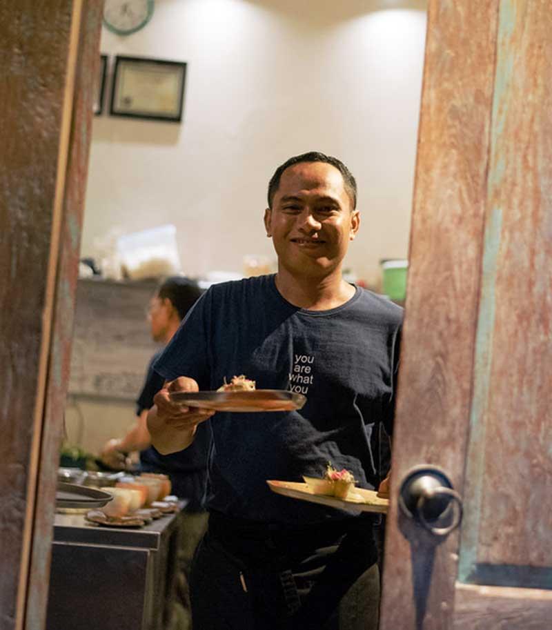 plant-based Restaurant Moksa Ubud