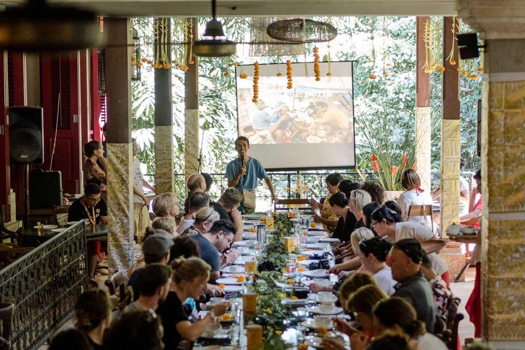 Ubud Food Festival, kulinarischer Vortrag