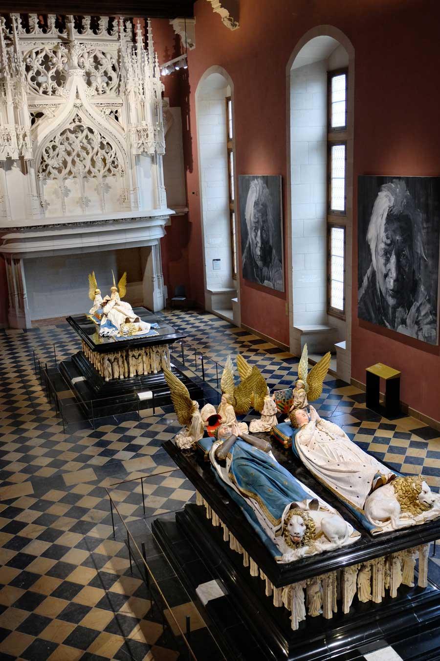 Dijon Musée des Beaux-Arts Herzogs-Grabstätten