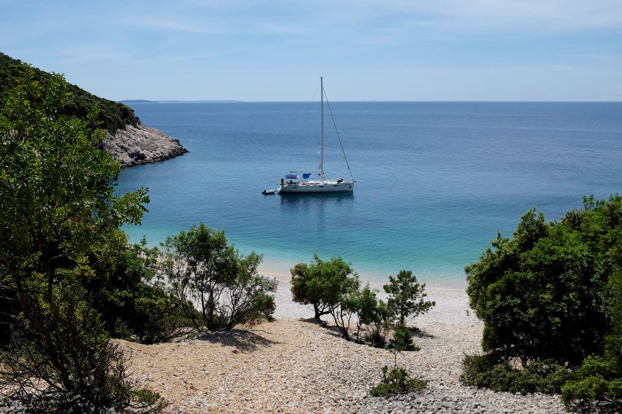 Wanderung zur Strandbucht von Lubenice