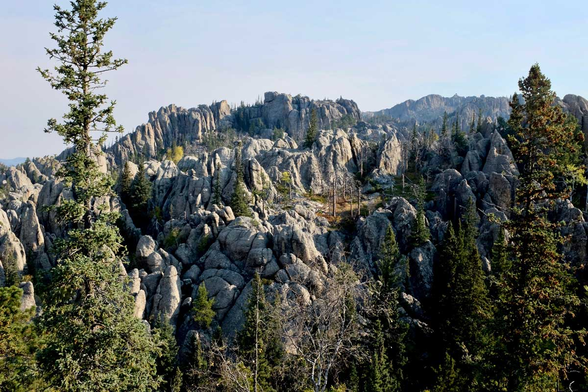 Black Hills Formationen South Dakota