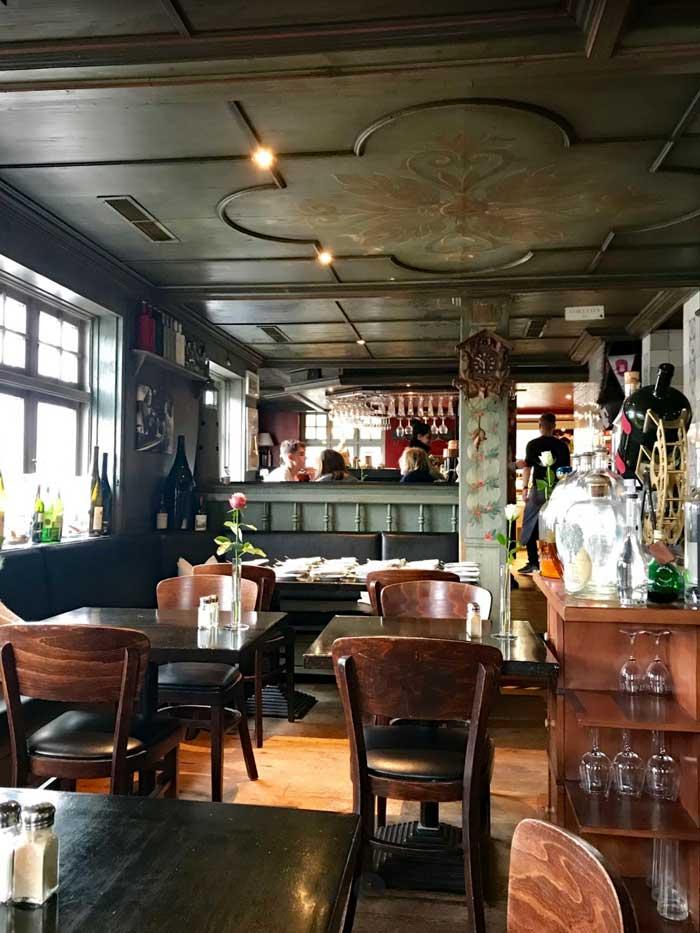 Gemütliches Restaurant Manne Pahl in Kampen, Sylt
