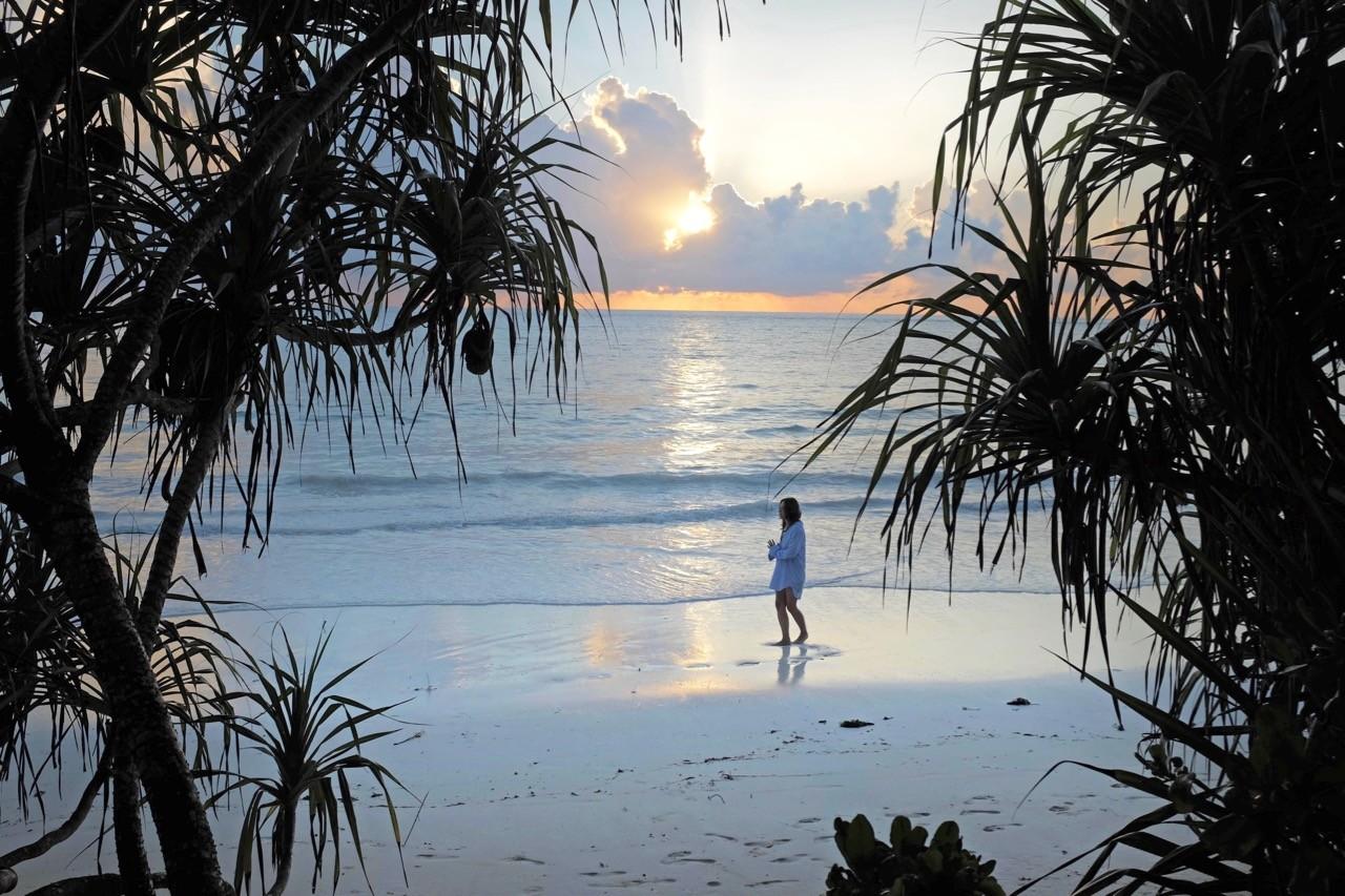 Der Sonnenaufang auf Sansibar holt einem aus dem Bett