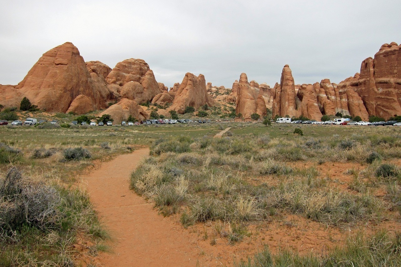 Devils Garden Trail Parking, Arches National Park