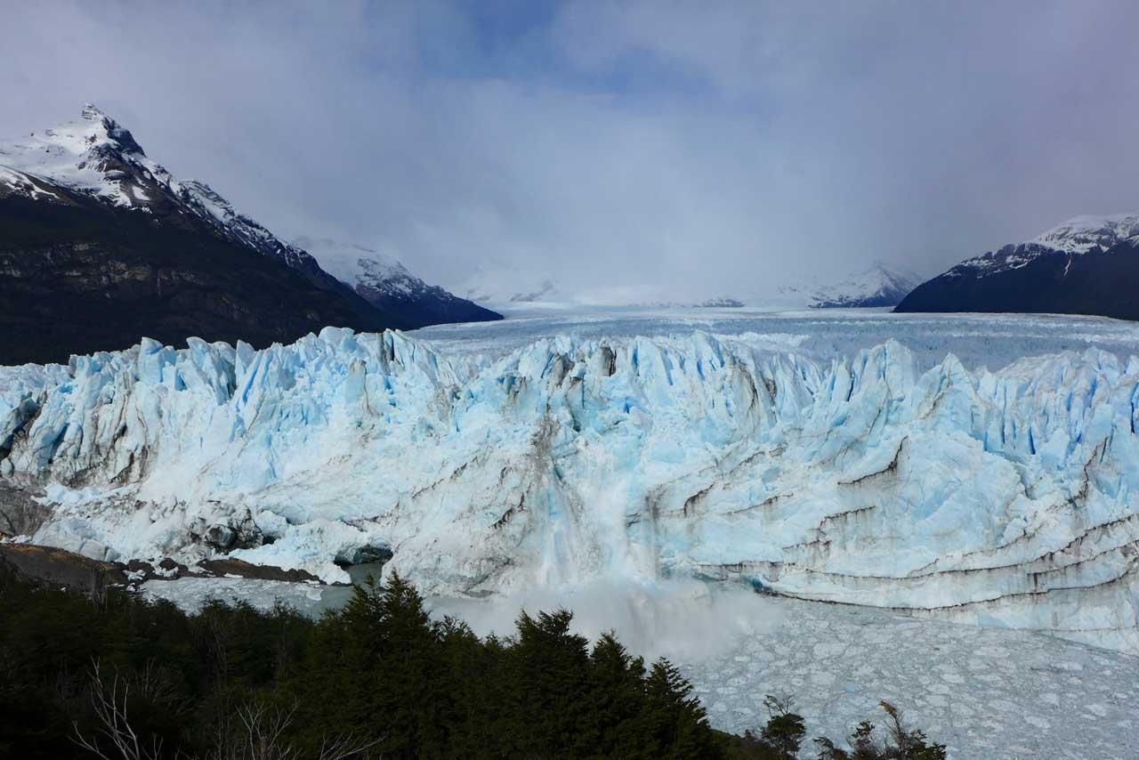 Kalbender Gletscher Perito Moreno