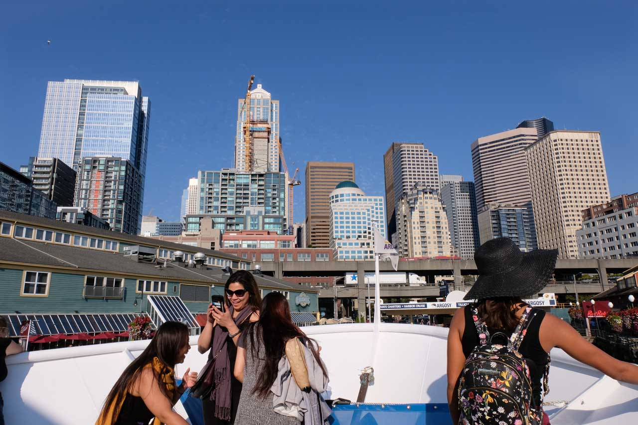 Seattle Downtown vom Wasser aus (Harbor Tour mit City Pass)