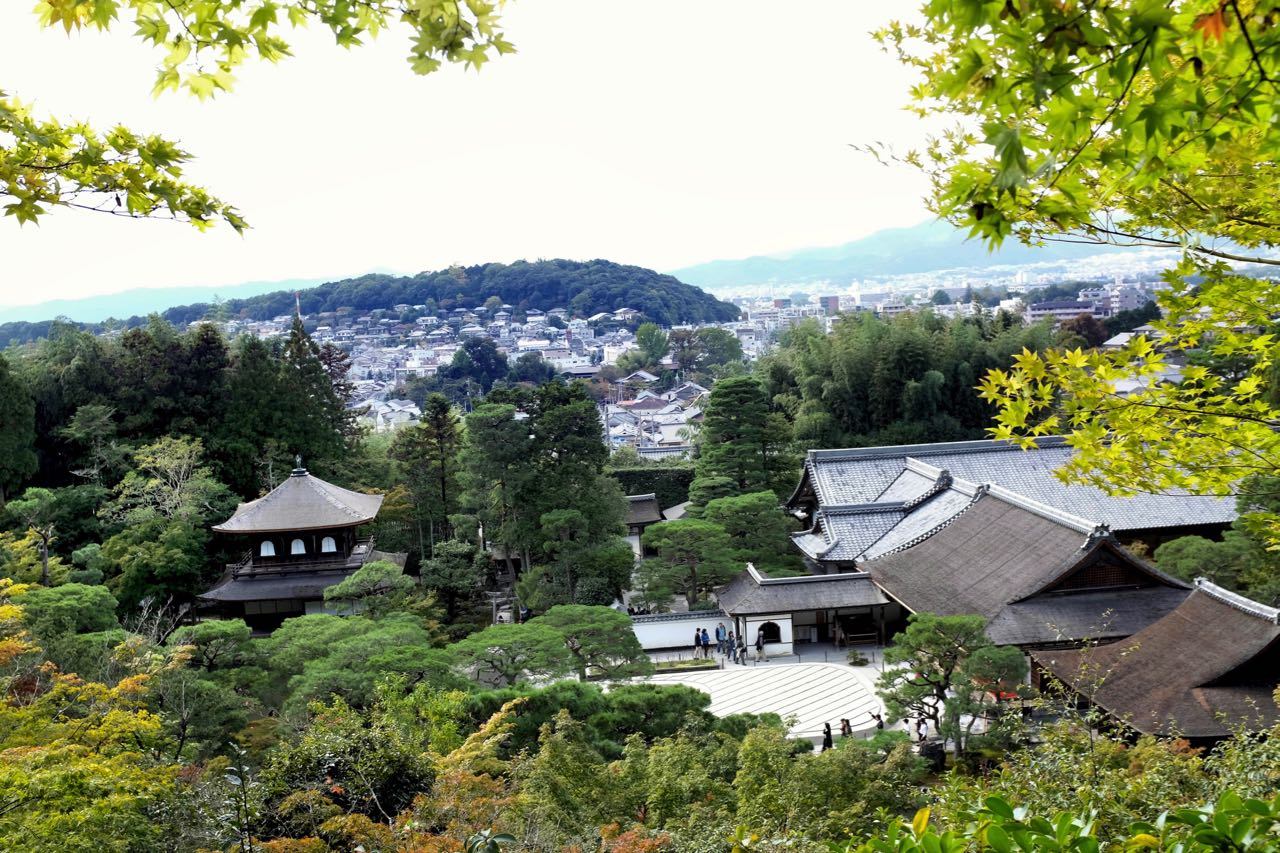 Kyoto Silberner Pavillon Ginkaku-ji