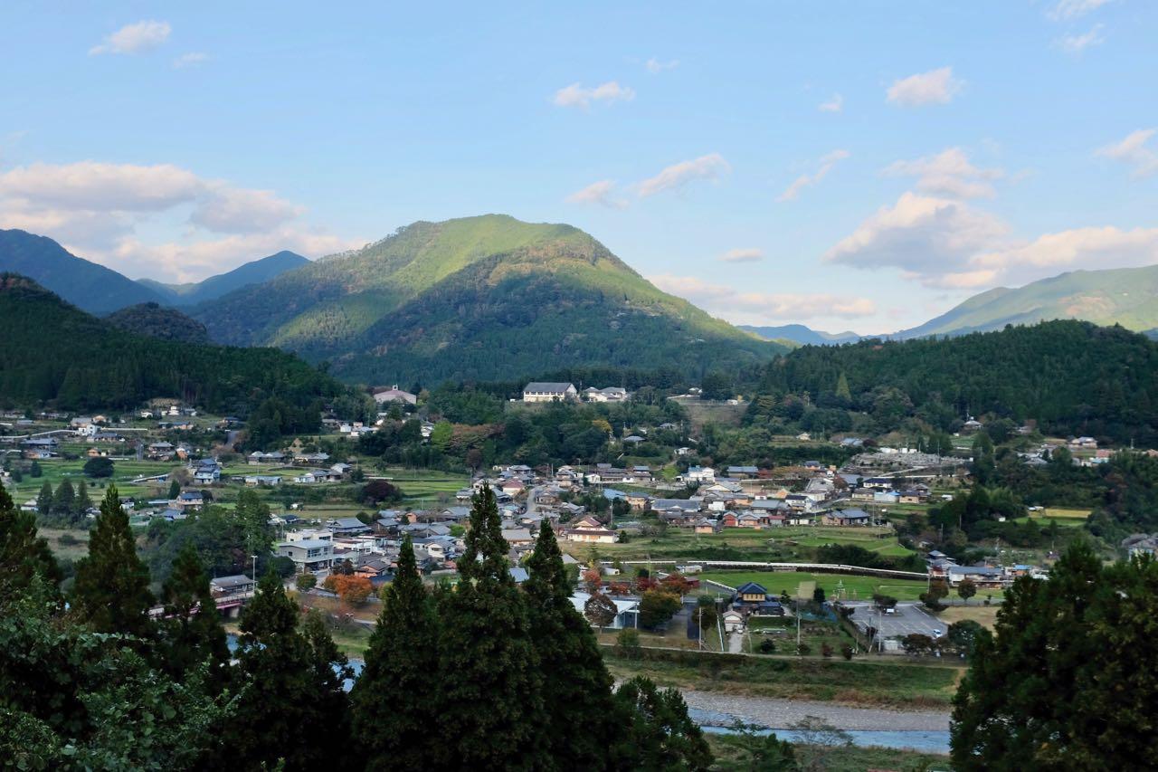 Im Talort Chikatsuyu übernachten gerne Kumano Kodo Pilger