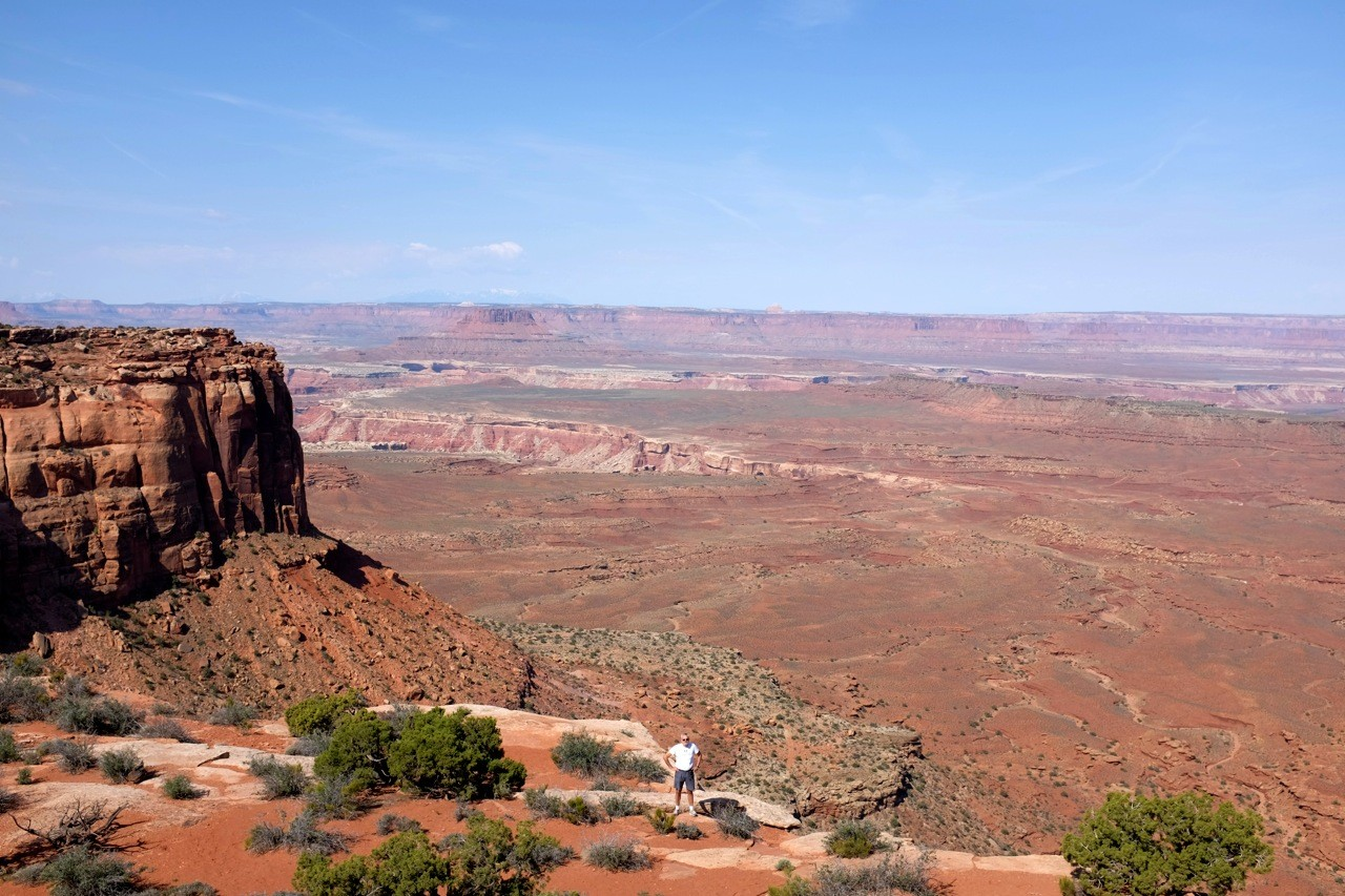Grand View Point, Island in the Sky, Canyonlands Nationalpark USA Südwesten