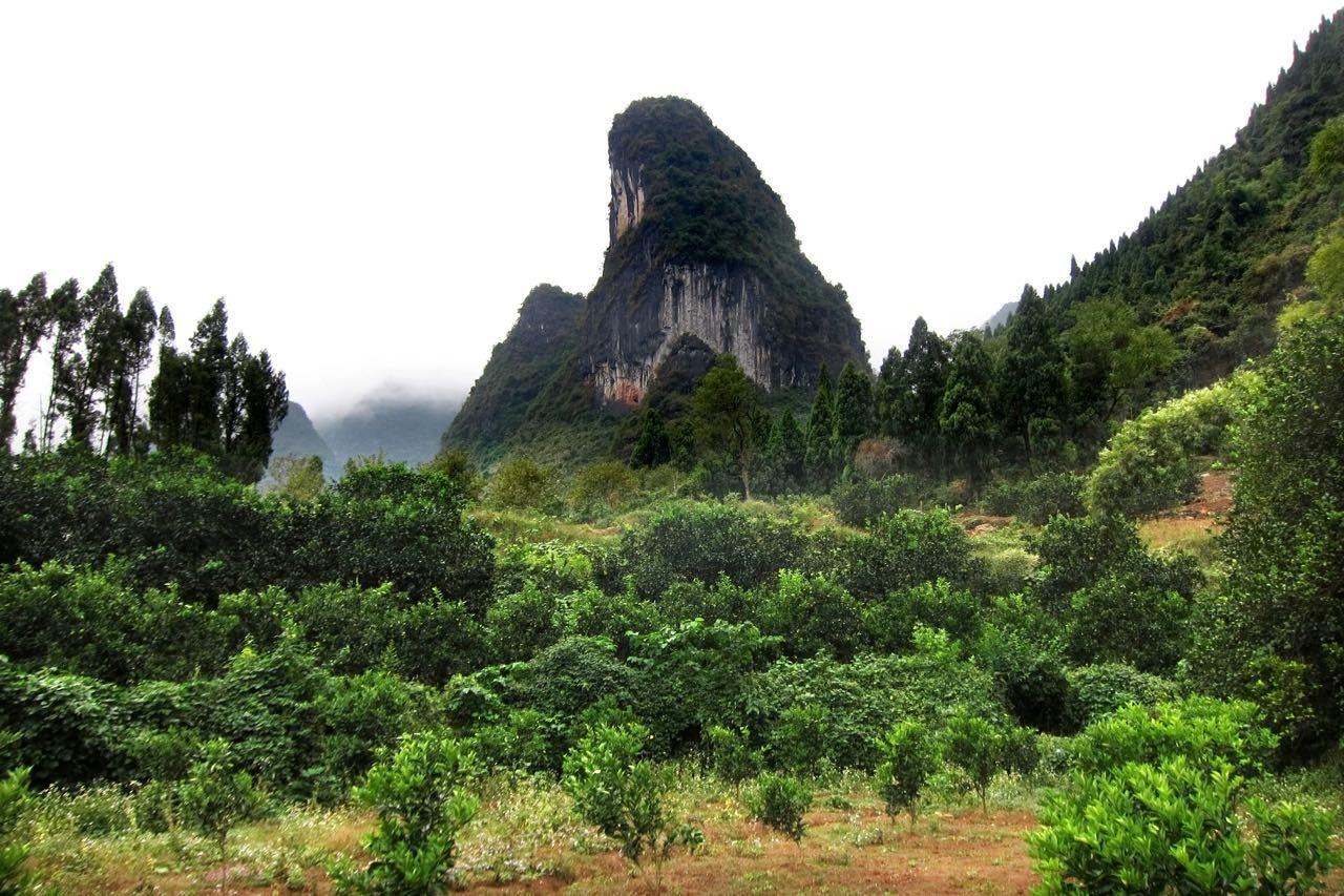 Wanderung von Yangdi bis Xingping
