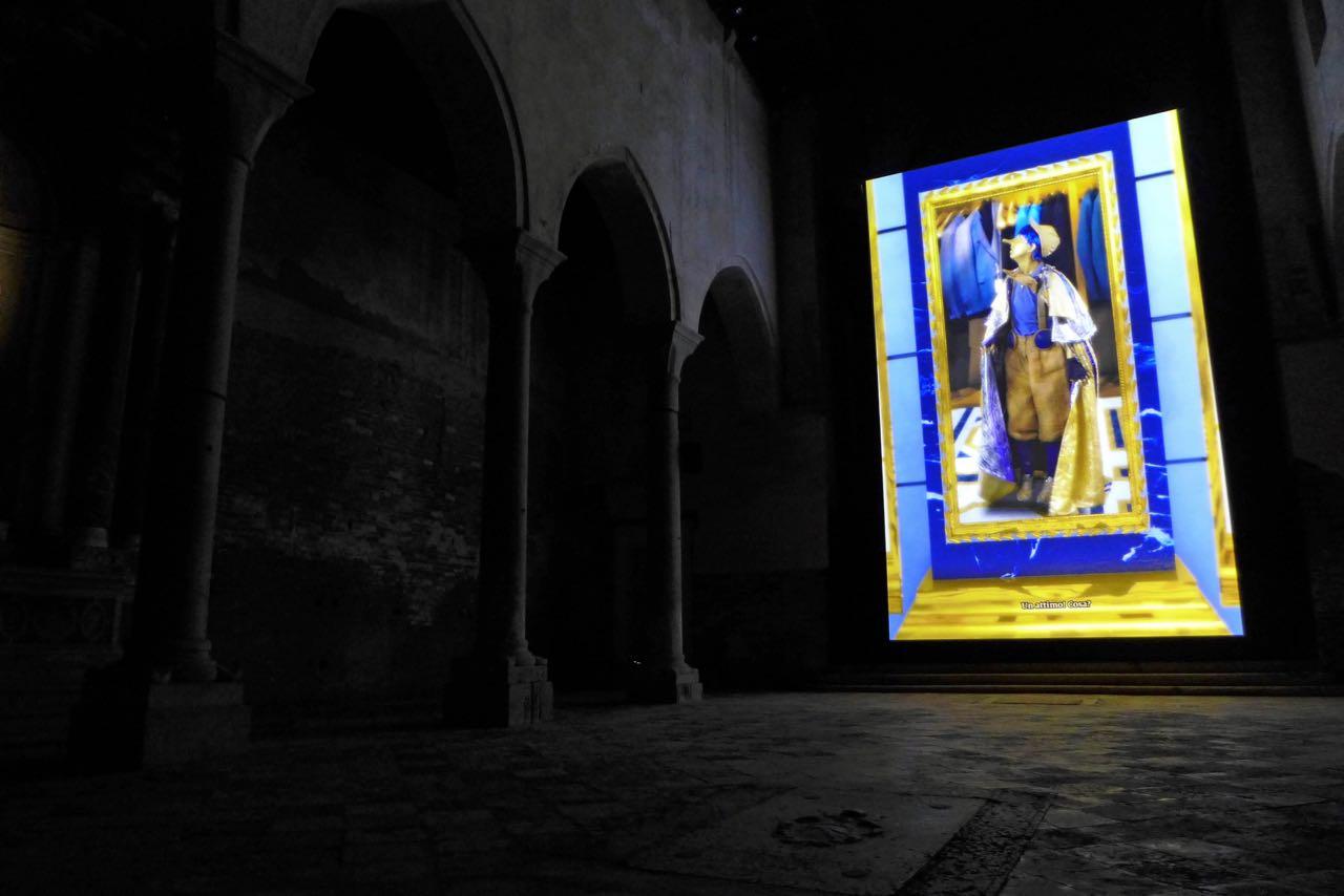 Schottland in der Kirche Fantasy Film à la Pinocchio (nicht ganz jugendfrei)