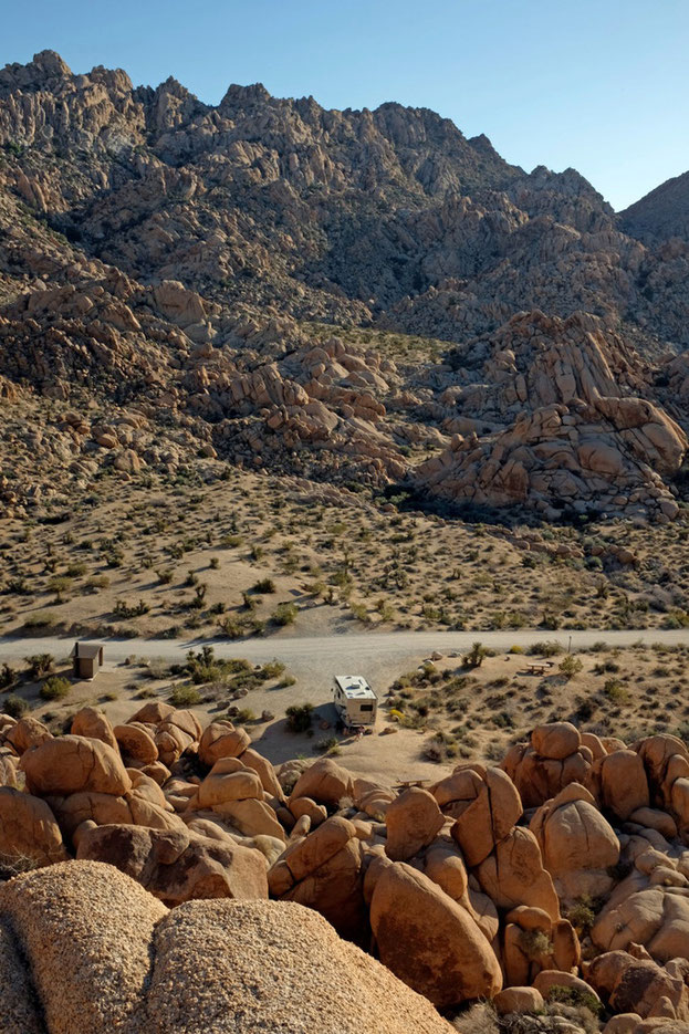 Best Campsites Indian Cove Joshua Tree National Park