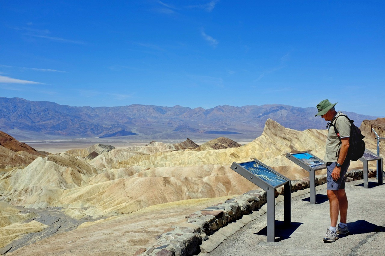 Zabriskie Point Death Valley Viewpoint