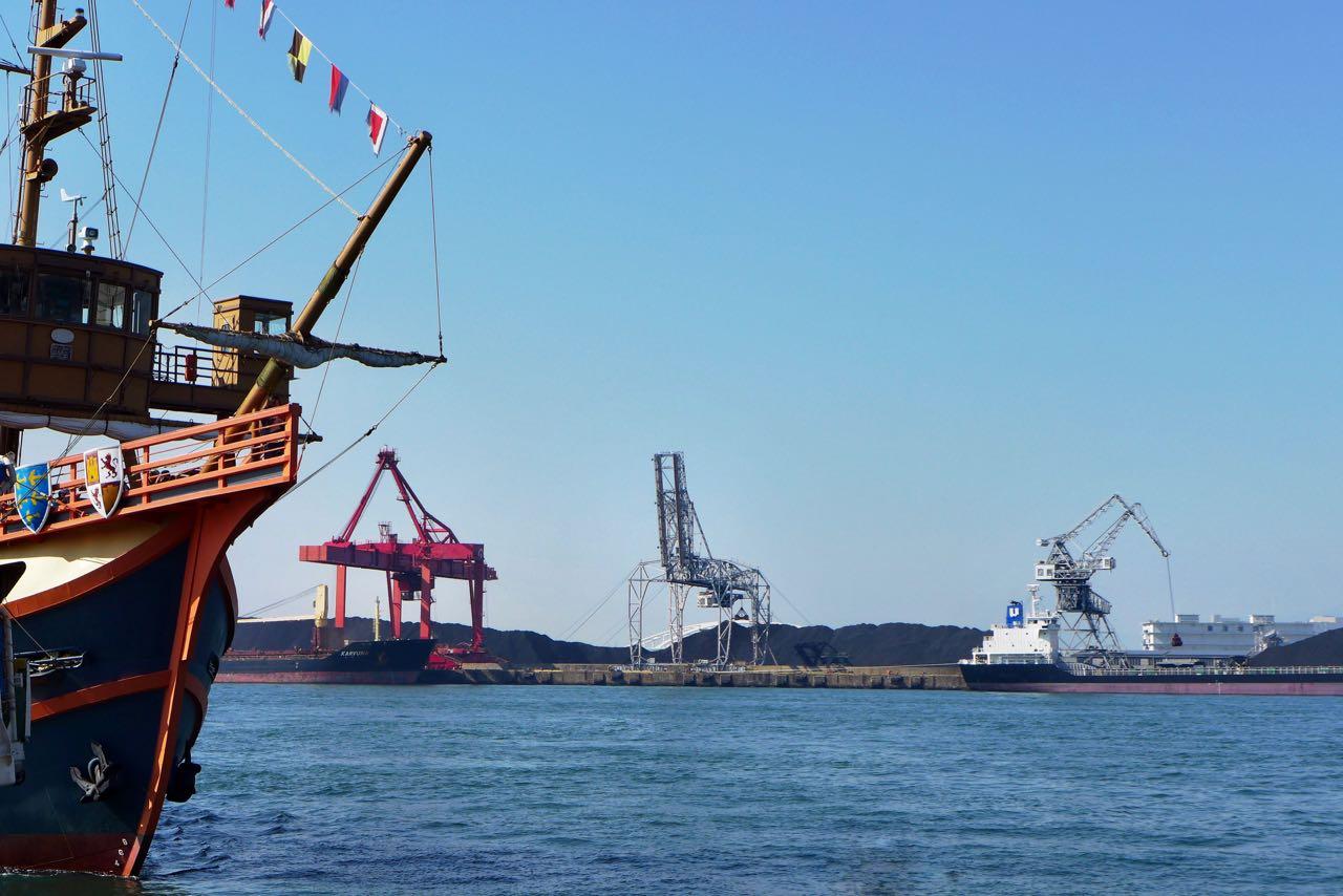 Hafen von Osaka