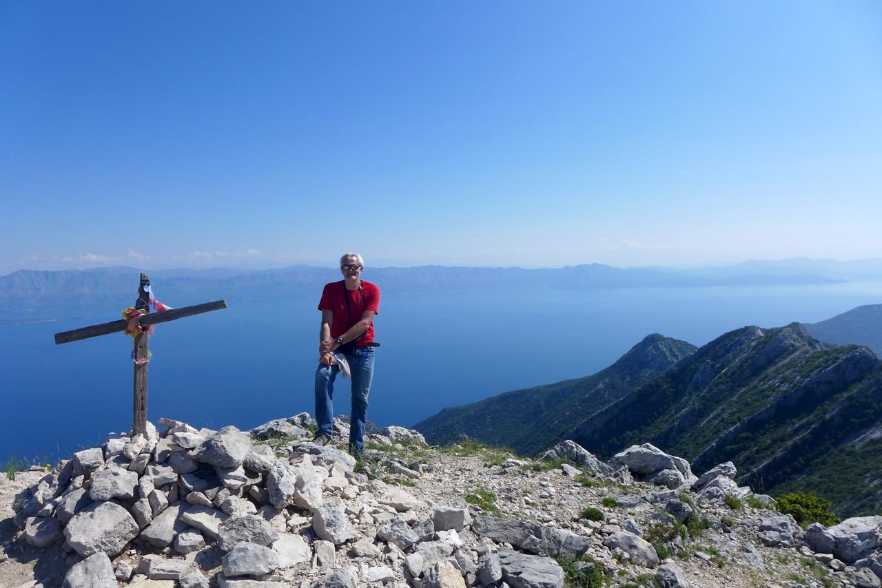 Grandioser Rundblick vom Gipfel Sveti Ilja