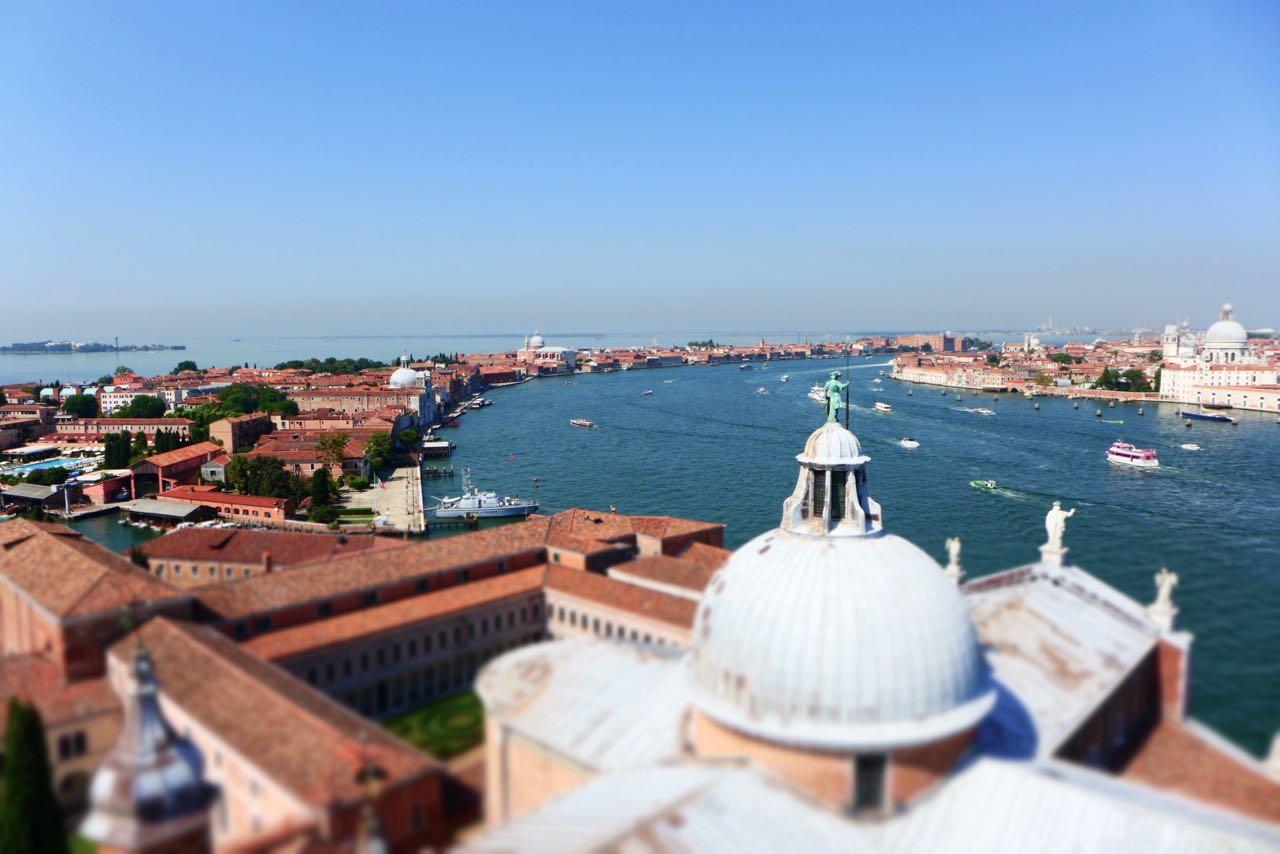 Venedig von der Insel San Giorgio Maggiore