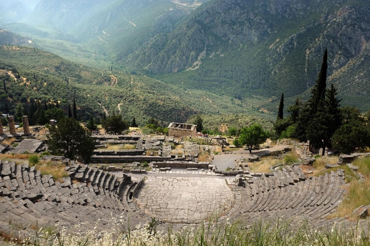 Delphi ein HIghlight einer Griechenlandreise