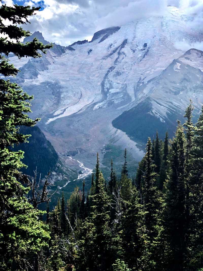 Emmons Gletscher - Mt. Rainier